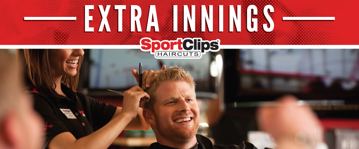 The Sport Clips Haircuts of Sparks Galleria Extra Innings Offerings